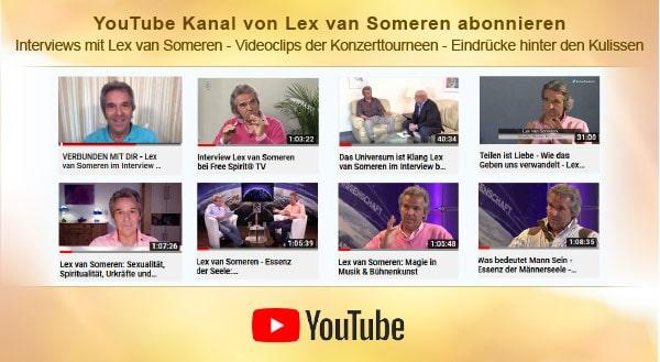 Youtube-Kanal von Lex van Someren