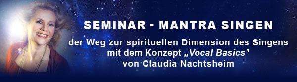 Stimmtraining mit Claudia Nachtsheim