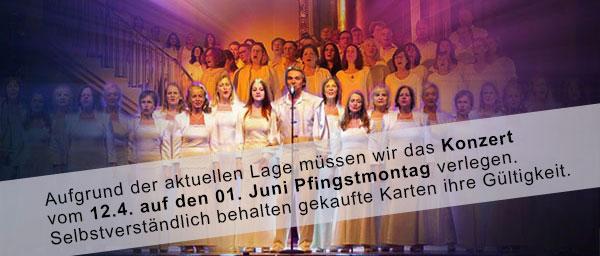 OSTERKONZERT 12.04.20 Baden-Baden mit Lex van Someren und dem 65-köpfigen Mantra-Chor