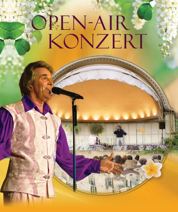 Open-Air-Konzert am 7.9.19 mit Lex van Someren