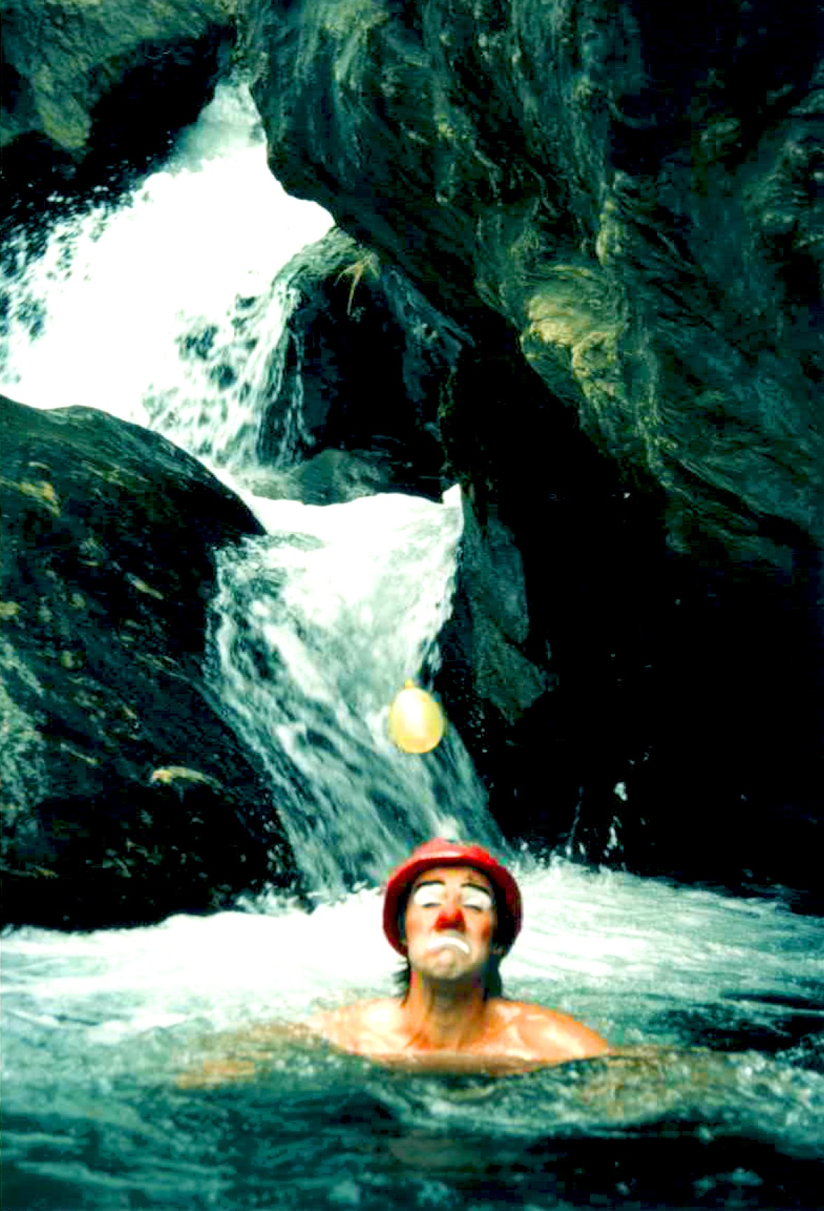 Clownbild mit Lex van Someren