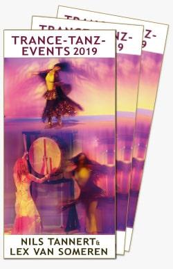 Trance-Tanz-Flyer, Events 2019 mit Lex van Someren und Nils Tannert