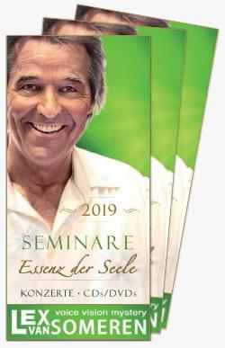 Seminar-Flyer mit Lex van Someren
