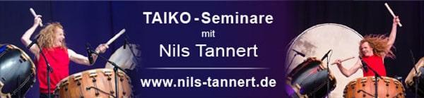 Taiko Seminare mit Nils Tannert