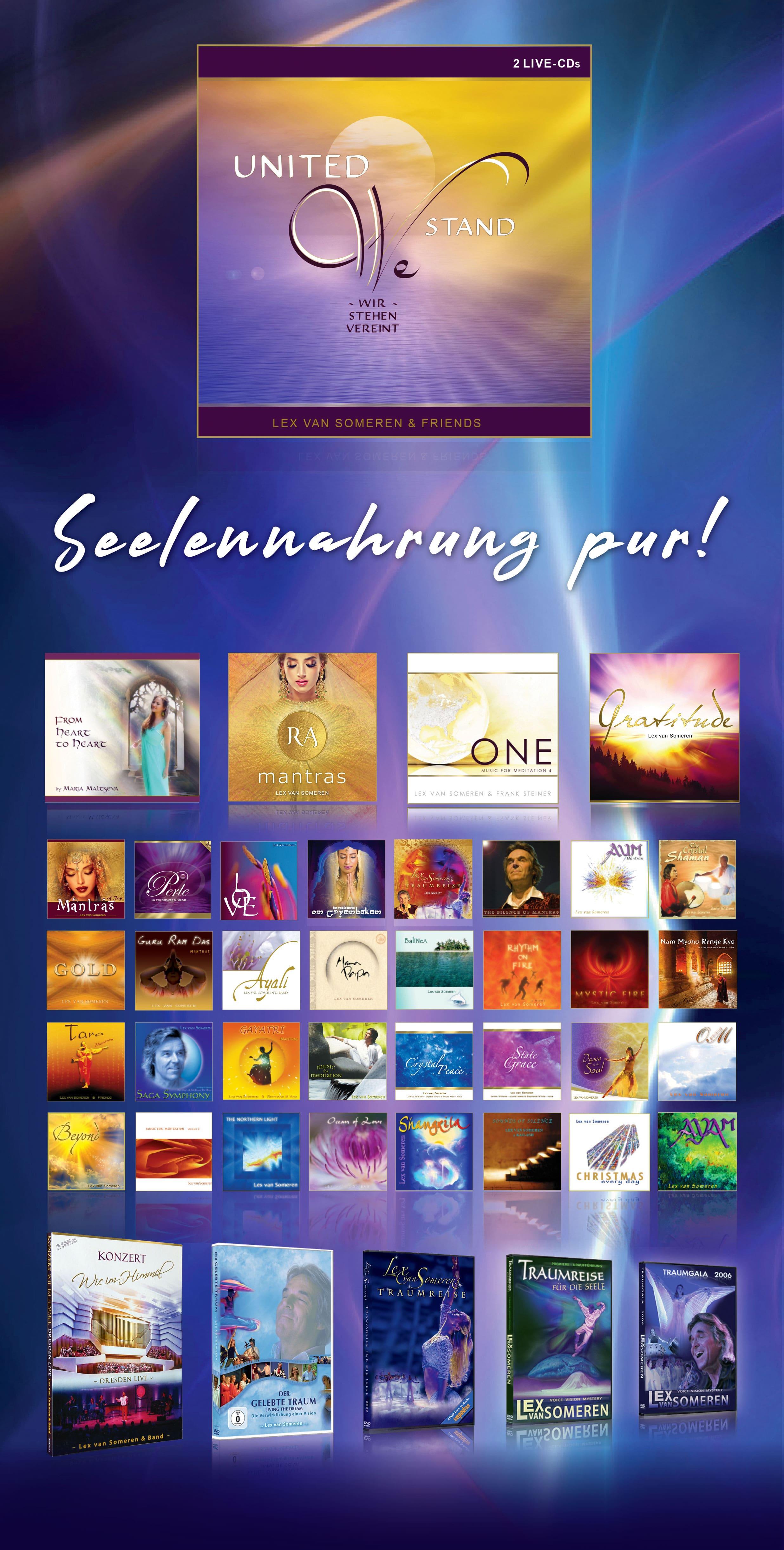 CDs und DVDs von Lex van Someren, CD/DVD-Shop