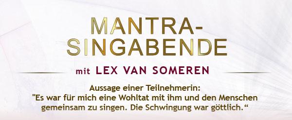 Mantra-Singabende mit Lex van Someren