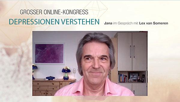 """Lex van Someren im Interview mit Jana Laura Kroll  zum Thema """"DEPRESSIONEN VERSTEHEN"""""""