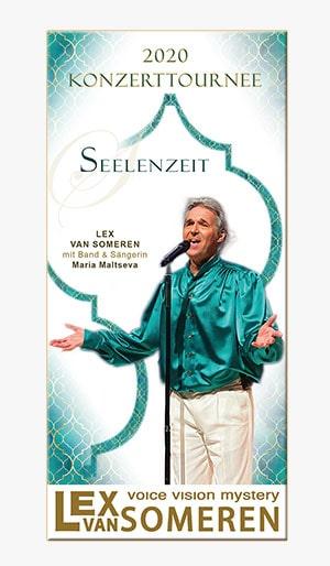 Seminar-Flyer Mann-Frau-Flyer mit Lex van Someren