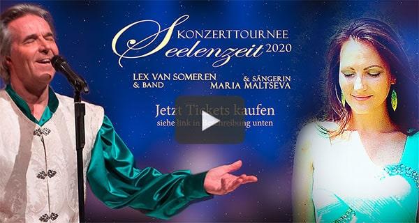 """""""Seelenzeit"""" Konzerttournee 2020 - Lex van Someren & Band mit Sängerin Maria Maltseva - Trailer"""