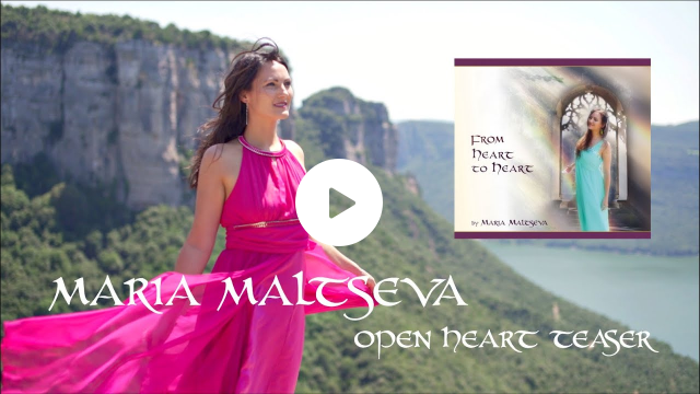 MARIA MALTSEVA - OPEN HEART Teaser   Debut Album Release