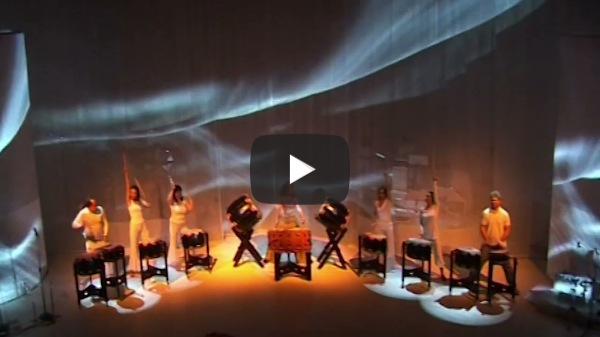 LEX VAN SOMEREN'S TRAUMREISE FÜR DIE SEELE - Proben 2010 Trommelgruppe - O-DAIKO DRUMS